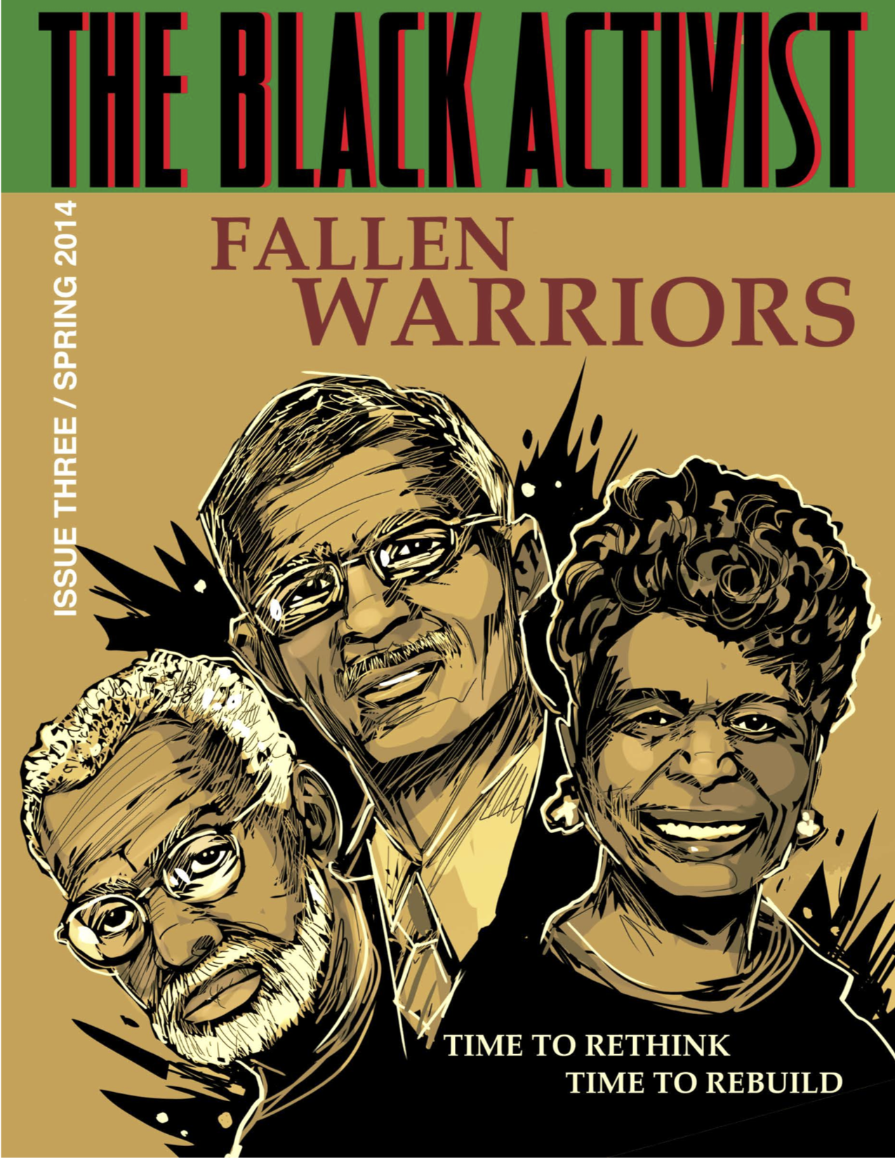The Black Activist issue 3 front cover