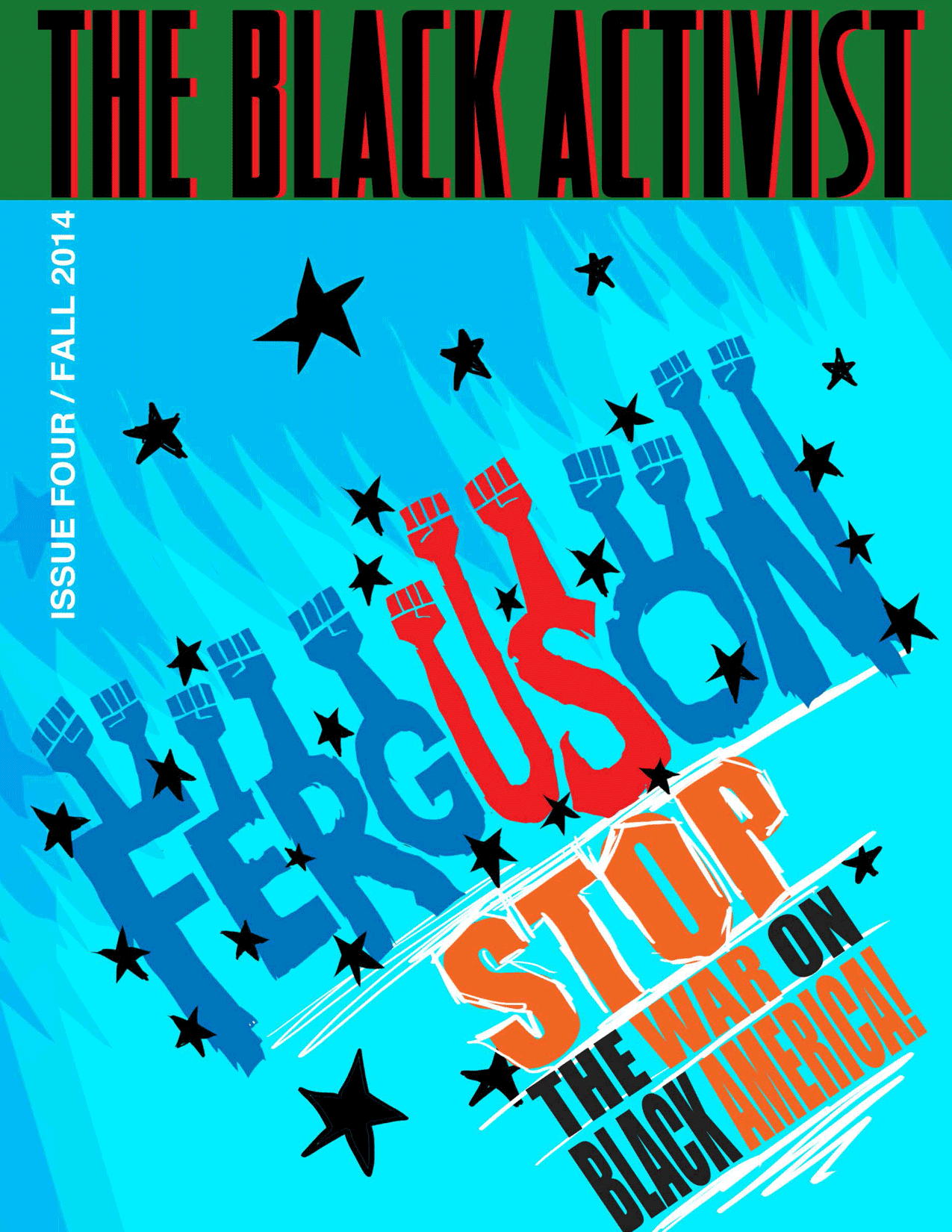 The Black Activist issue 4 front cover